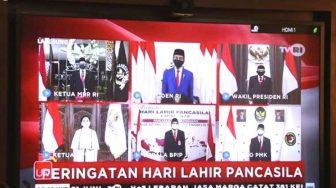 Gubernur Sulbar Ikuti Upacara Hari Lahir Pancasila, Jokowi: Pancasila Tetap Bintang Penjuru Persatuan Bangsa