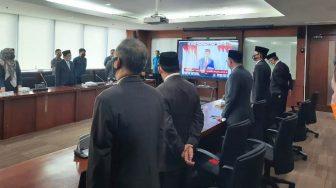 Presiden Jokowi Pimpin Upacara Hari Lahir Pancasila Melalui Vicon Diikuti Wakil Gubernur Kaltim