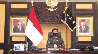Tindaklanjuti Inpres Penanganan Covid-19, Panglima TNI Lakukan Rapat Evaluasi Pendisiplinan Protokol Kesehatan